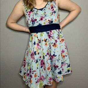 Moon Collection Floral Dress